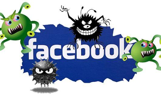 Компьютерный вирус распространяется по Фейсбуку со скоростью 40 тысяч атак в час