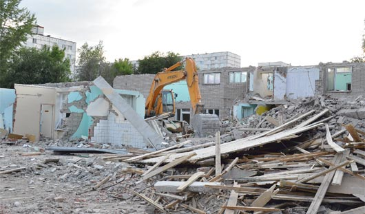 Что построят на месте снесенного детского сада на Ворошилова в Ижевске?