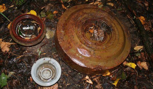 В Ижевске неподалеку от школы нашли учебный взрыватель от мины