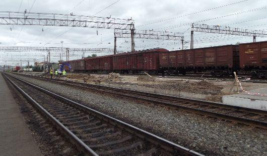 Брусчаткой и тактильной плиткой выложат платформу на ж/д вокзале в Ижевске