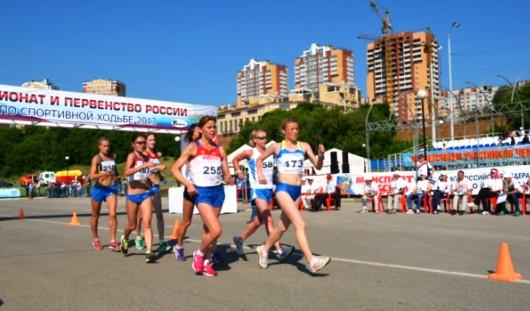Сборная Удмуртии по спортивной ходьбе заняла 3-е место на Кубке России