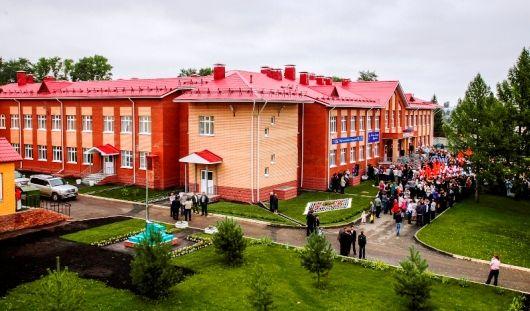 В Сарапуле открыли «самую красивую школу в городе»