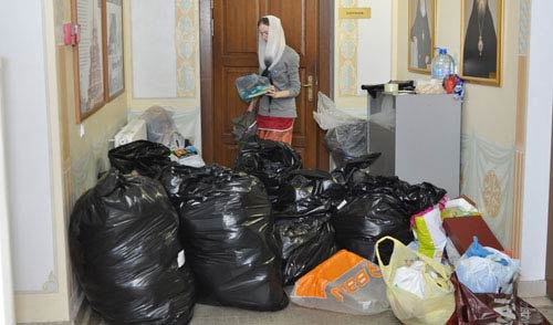Фотофакт: ижевчане собрали вещи в помощь пострадавшим на Дальнем Востоке