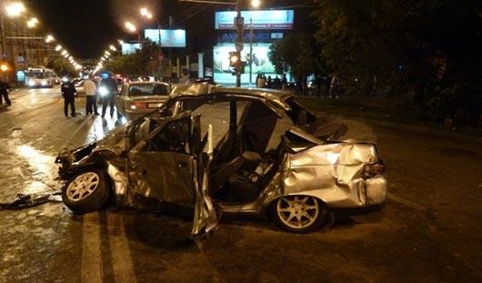 ДТП на Пушкинской в Ижевске: водитель «ленд крузера» допускает, что проехал на красный