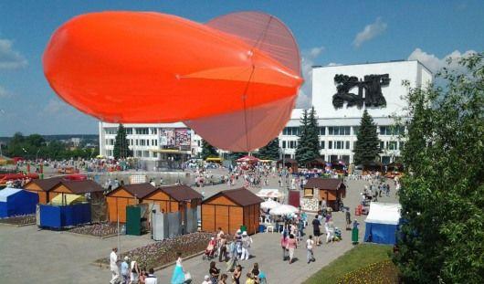 На Рыжем фестивале в Ижевске запустят аэростат размером с пятиэтажку