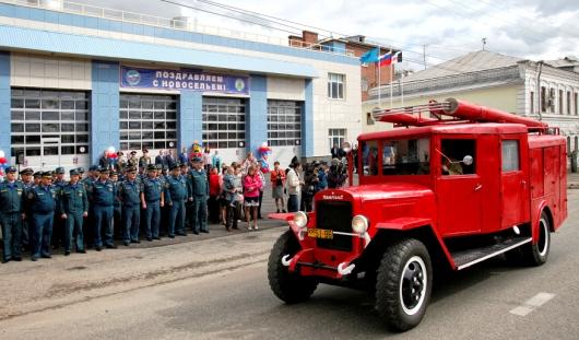 В центре Ижевска открылось новое пожарное депо