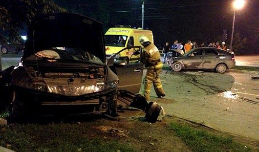 По вине пьяного водителя в аварии в Ижевске погибло 2 человека