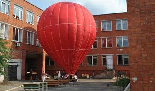 Выпускники ижевской школы запустили свой воздушный шар в Раменском