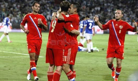 Сборная России по футболу обыграла Израиль со счетом 3:1