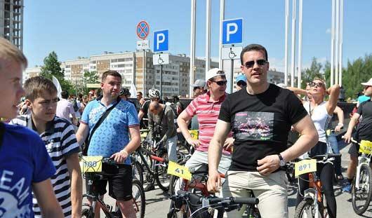 Денис Агашин пригласил ижевчан на открытие новой велодорожки