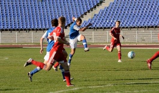 Игрок футбольного клуба «Зенит-Ижевск» забил 2 гола за 2 минуты