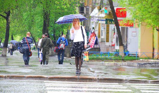 Дожди вернутся в Ижевск в середине недели