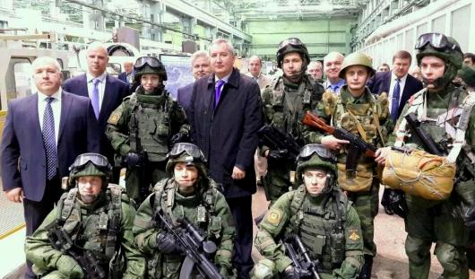 Путину в Ижевске покажут боевую экипировку «Ратник»