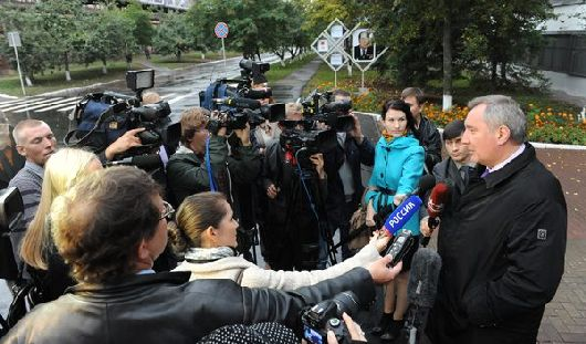 Рогозин в Ижевске: главное вернуть всех ушедших с «Ижмаша» специалистов