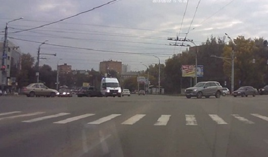 В Ижевске в аварию попала «скорая»