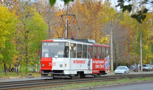 В Ижевске обстреляли трамвай?