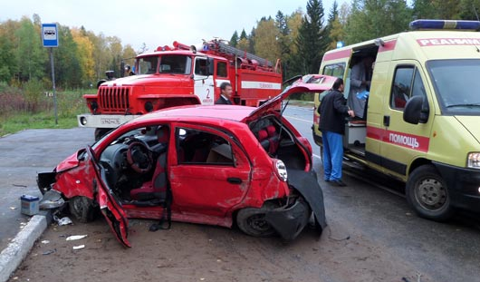 Годовалый ребенок пострадал в аварии под Ижевском
