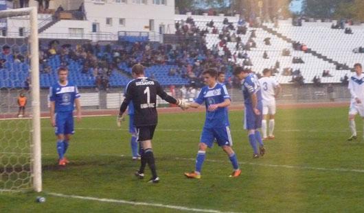 Ижевские зенитовцы проиграли челнинскому «Камазу» со счётом 1:2