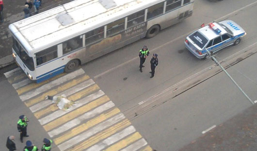 В Ижевске пенсионерка умерла, переходя дорогу по пешеходному переходу