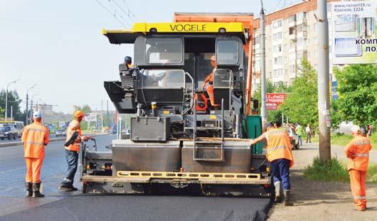 Какие дороги отремонтировали в Ижевске в этом году, и планируют в следующем