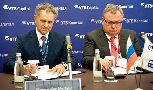 Президент Удмуртии и глава банка ВТБ подписали соглашение о строительстве моста через Каму