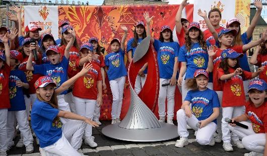 Чашу Олимпийского огня привезут в Ижевск и оставят на память