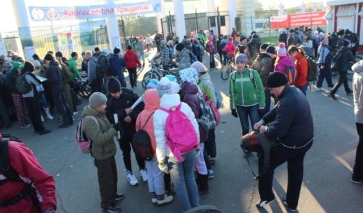 Ижевская кругосветка: рубль за километр и давка на теплоходе