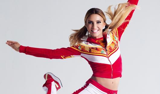 Одна из самых сексуальных девушек России исполнит с ижевчанами «Олимпийский танец»