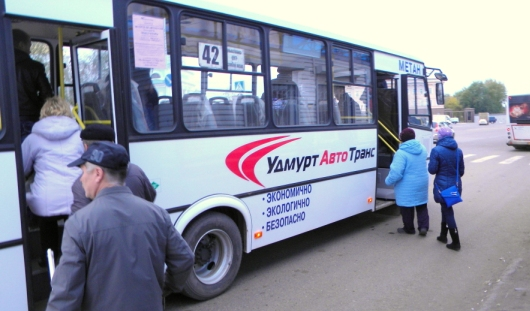 Первые автобусы на природном газе вышли на маршруты в Удмуртии