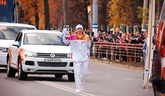 Факелоносцы на пруду: раскрыта интрига эстафеты Олимпийского огня в Ижевске