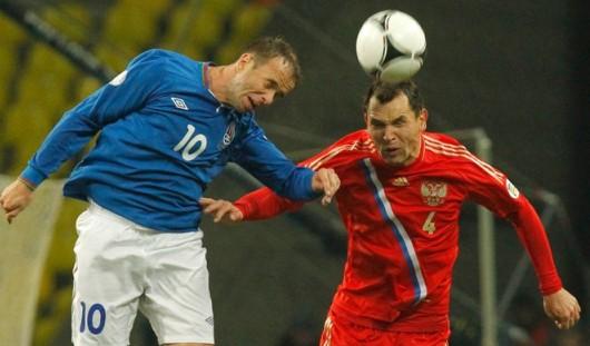 15 октября сборная России по футболу сыграет с командой из Азербайджана
