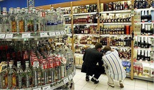 Продажи водки в Удмуртии упали на треть