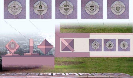 Герб Ижевска появится на главной площади Брянска