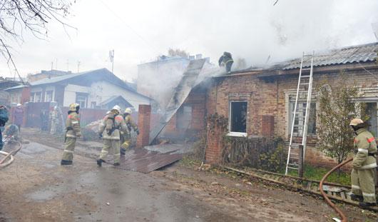 В Ижевске в жилом доме взорвался баллон