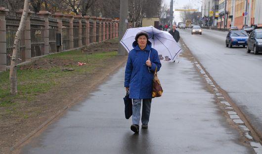 Всю вторую половину недели в Ижевске будет идти снег с дождем