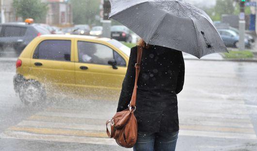Теплая, но дождливая погода ожидает ижевчан в выходные