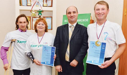 Инвалид из Удмуртии стал чемпионом России по игре в дартс