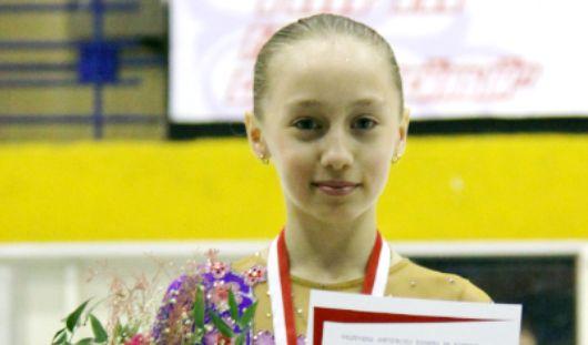 Юная фигуристка из Ижевска выиграла «золото» на международном турнире «Кубок Ниццы»