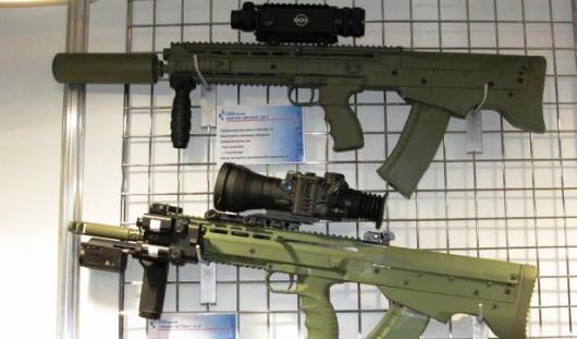 Ижевский концерн «Калашников» впервые показал специальные автоматы для ФСБ