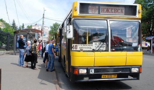 В ноябрьские праздники общественный транспорт Ижевска перейдет на расписание выходного дня