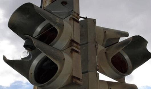 В Ижевске на перекрестке улиц Кирова и Удмуртская снова не работает светофор