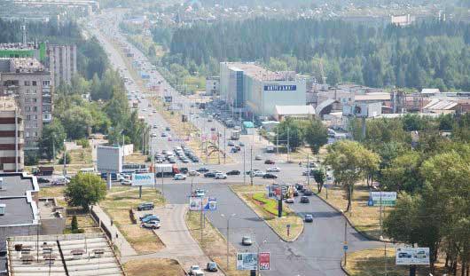 Продленная улица 10 лет Октября избавит улицы Кирова и Холмогорова от пробок