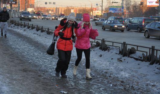 Снежный накат и гололедицу обещают на этой неделе ижевские синоптики