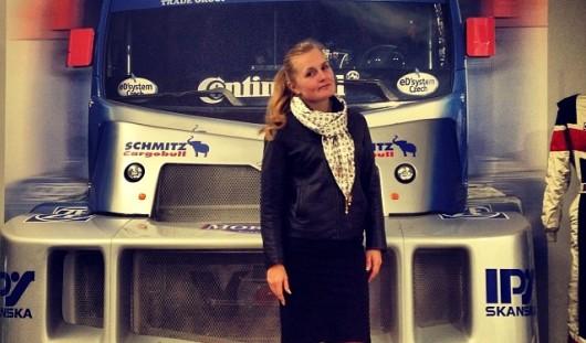 Ижевская автогонщица сядет за руль грузовика на чемпионате Европы по трак-рейсингу