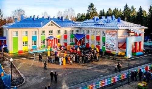 Фотофакт: в Ижевске открылись 2 новых детских сада
