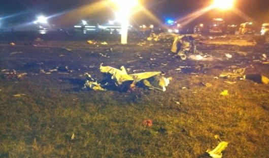 В казанском аэропорту при посадке взорвался Боинг-737