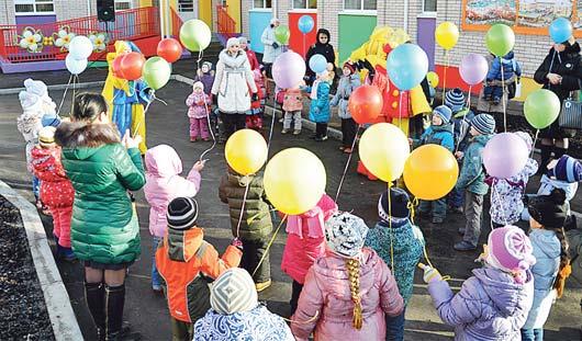 В Ижевске открыли два новых детских сада