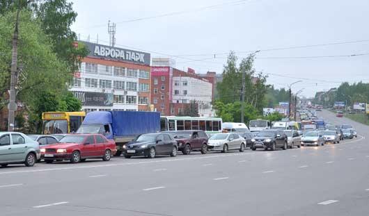 От «Авроры парк» в Ижевске делают еще один выезд на Удмуртскую