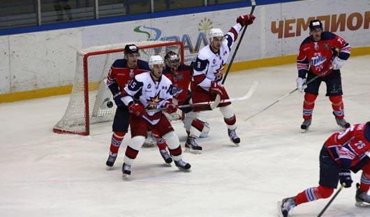 «Ижсталь» разгромила курганских хоккеистов со счётом 6:2