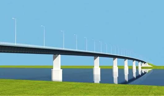 Мост через Каму стал первым в России концессионным проектом в дорожной отрасли